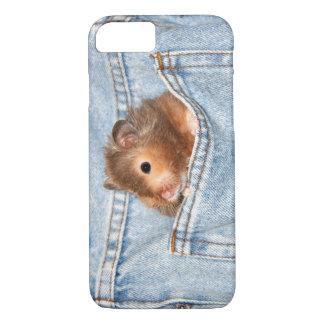 Hamster in pocket iPhone 8/7 case