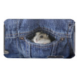 Hamster in pocket iPod touch Case-Mate case