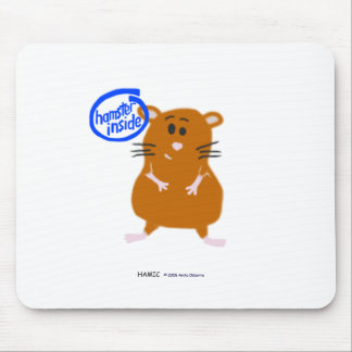 Hamster Inside Mouse Pad