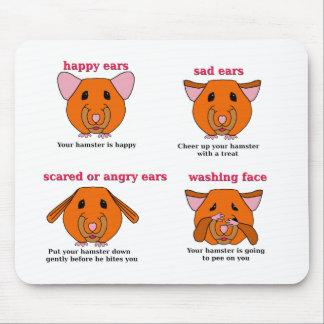 Hamster Language Mousepad