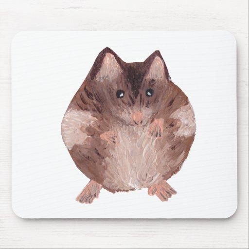 Hámster lindo tapete de raton