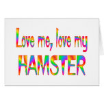 Hamster Love Greeting Cards