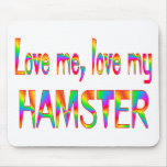 Hamster Love Mouse Pad