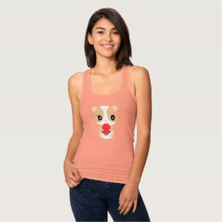 Hamster love strawberry tank top