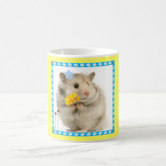 hamster classic white coffee mug