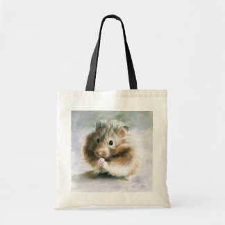 Hamster Oil Painting by Kate Marr Bag