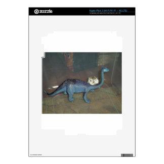 Hamster on a dinosaur decal for iPad 3