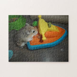 Hamster on a Jet-ski Jigsaw Puzzle