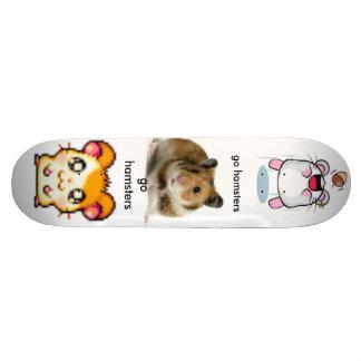 hamster our awsome skateboard deck