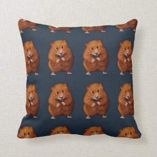 Hamster Pattern: Color Pencil Art: Little Critter Pillows