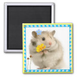 hamster refrigerator magnet