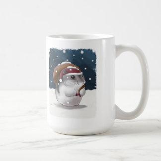 Hamster Santa Coffee Mugs