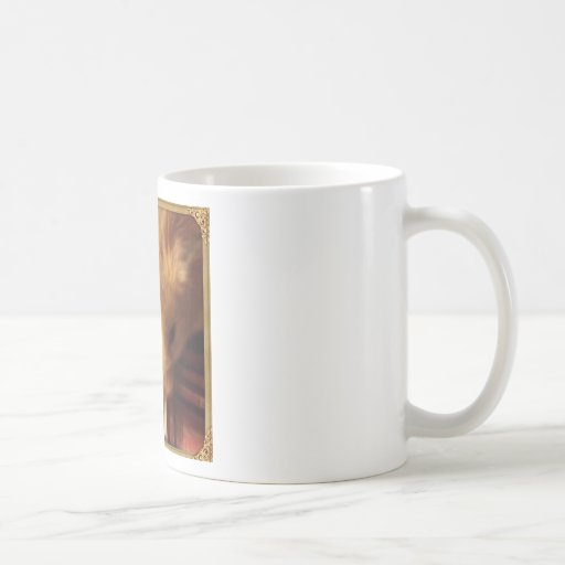 Hámster sirio lindo tazas