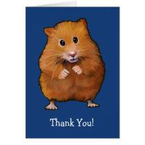 HAMSTER: THANK YOU CARD: ART