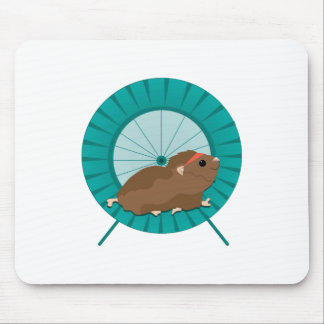 Hamster Treadmill Mouse Pad
