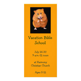 HAMSTER: VACATION BIBLE SCHOOL INVITATION CARDS