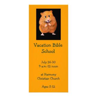 HAMSTER: VACATION BIBLE SCHOOL INVITATION CARDS