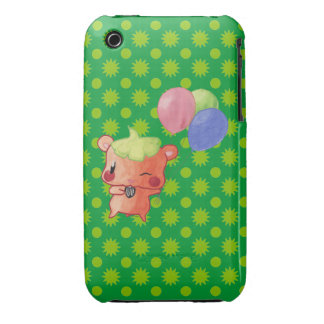 Hamster Watercolor Case-Mate iPhone 3 Cases