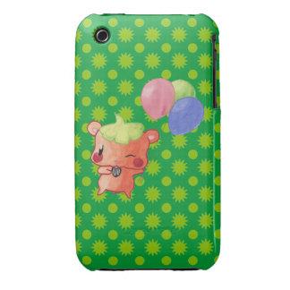 Hamster Watercolor iPhone 3 Case