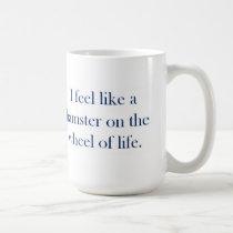Hamster Wheel mug