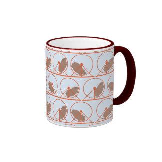 Hamster Wheel Mug (red)