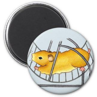 Hamster Wheel Ted Magnet