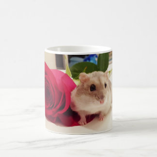 Hamster With a Rose Coffee Mug
