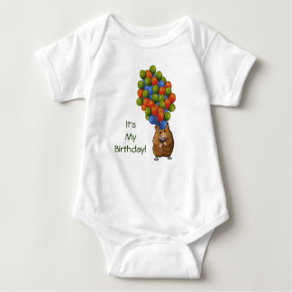 Hamster with Balloons, It's My Birthday! Shirt