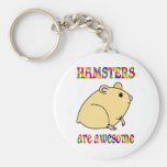 Hamsters are Awesome Key Chain