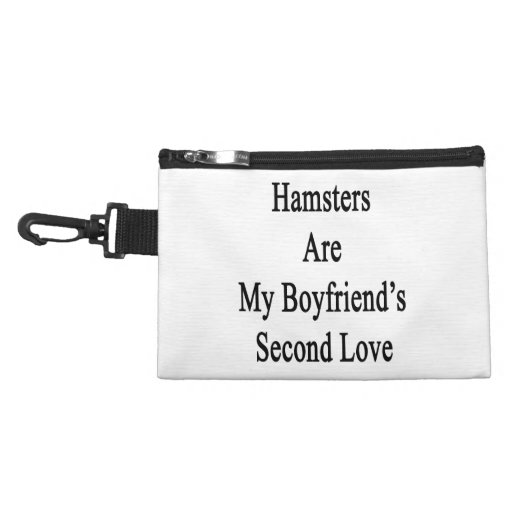 Hamsters Are My Boyfriend's Second Love Accessories Bags