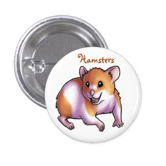 Hamsters Pinback Button
