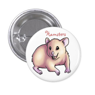 Hamsters Pinback Buttons