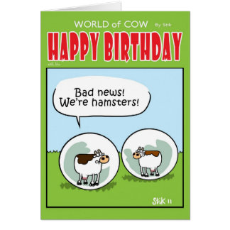 Hamsters Card