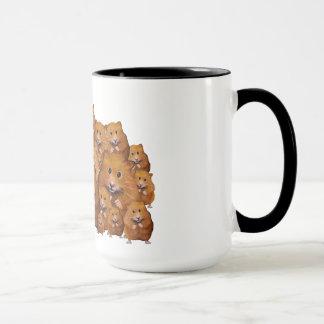 Hamsters: Family: Group: Reunion Souvenir: Art Mug