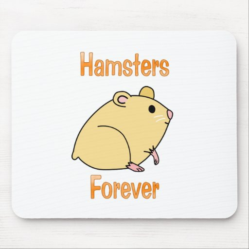 Hamsters Forever Mouse Pad