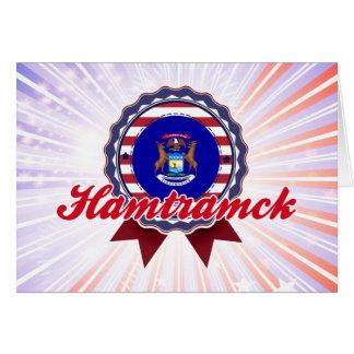 Hamtramck, MI Tarjeta De Felicitación