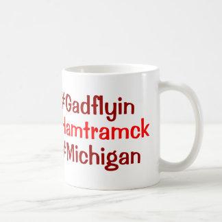 Hamtramck Michigan Taza Básica Blanca