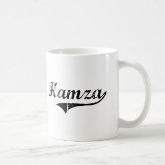 Hamza Classic Style Name Coffee Mug