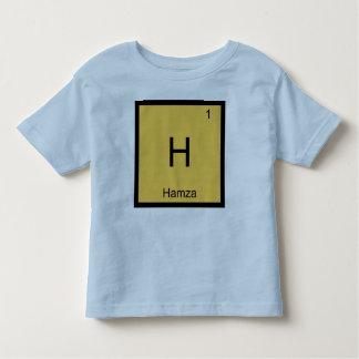Hamza  Name Chemistry Element Periodic Table T Shirt