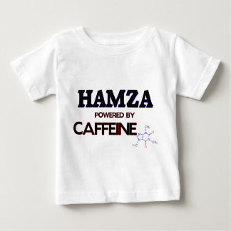 Hamza powered by caffeine t shirt