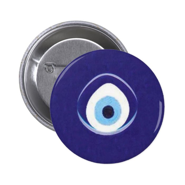 Hamza to the Evil Eye Pinback Button