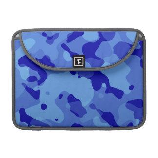 Han Blue Camo; Camouflage MacBook Pro Sleeves