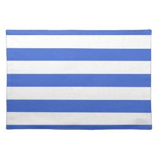Han Blue Horizontal Stripes Placemats