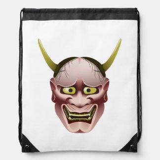 Han-nya Drawstring Backpack