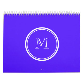 Han Purple High End Colored Monogram Calendar