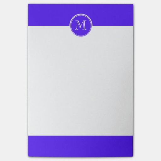 Han Purple High End Colored Monogram Post-it® Notes