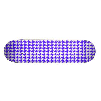 Han Purple Houndstooth Skateboard Deck