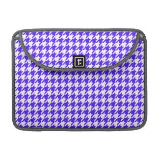 Han Purple Houndstooth Sleeve For MacBook Pro