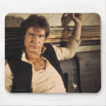Han Solo Movie Photograph Mouse Pad