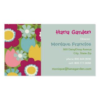 Hana Garden - Green - Business Card